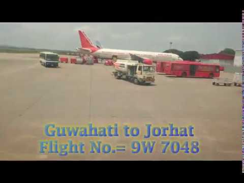 Guwahati to Jorhat in Flight