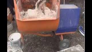 Производство полистиролбетонных блоков(Производство полистиролбетонных блоков в полевых условиях., 2014-04-25T18:48:35.000Z)