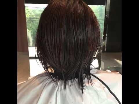 ดัดผมแบบวอลลุ่ม ผมสั้นมีวอลลุ่ม by Madris Hairstylist
