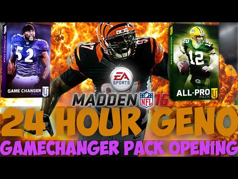 BEAST BUDGET PULLS! 24 HOUR GENO ATKINS PACK OPENING! Madden 16 Ultimate Team | MUT16