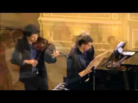 Itamar Zorman Brahms 2nd violin sonata, Finale איתמר זורמן