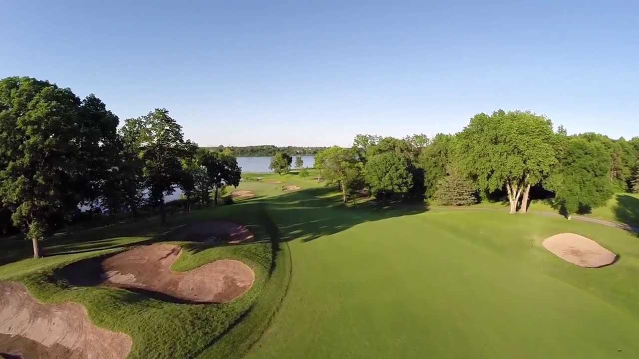 Aerial Tour of Hazeltine National Golf Club - YouTube