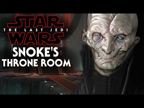 Thumbnail: Snoke's Throne Room Revealed! New Footage - Star Wars The Last Jedi