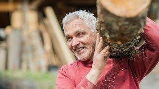 """""""Ich lebe mit dem Holz mit"""""""
