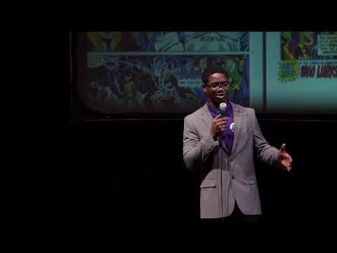 James Joseph, The Morality Behind Comic Books | James Joseph | TEDxYouth@OCSA