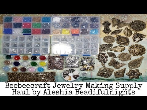 Beebeecraft Jewelry Making Supply Haul