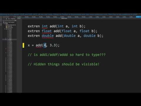 How I program C