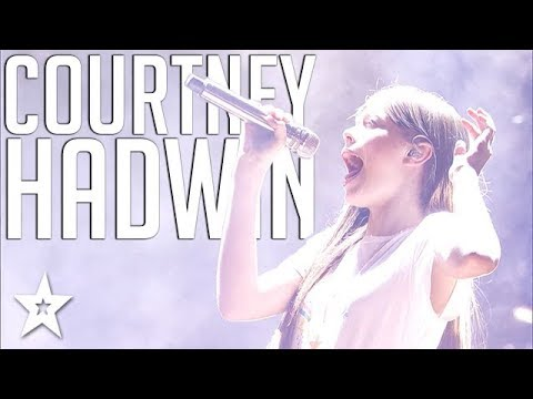 Singer Courtney Hadwin | All Performances | Americas Got Talent | Got Talent Global