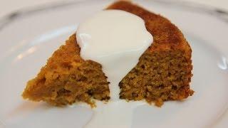 Pumpkin Pudding Cake Recipe - Cookingwithalia - Episode 286