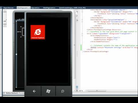 How to enable disable Bluetooth in Windows Phone using C# ?