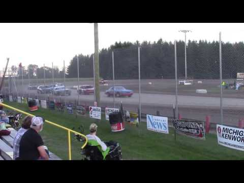 Merritt Speedway 4 Cylinder Heat 2 9/17/16