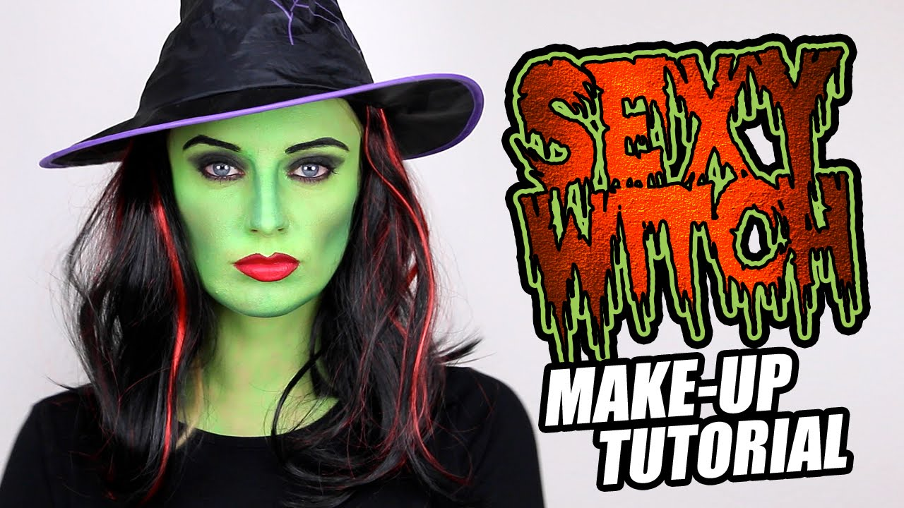 Green Witch Make Tutorial Great Halloween