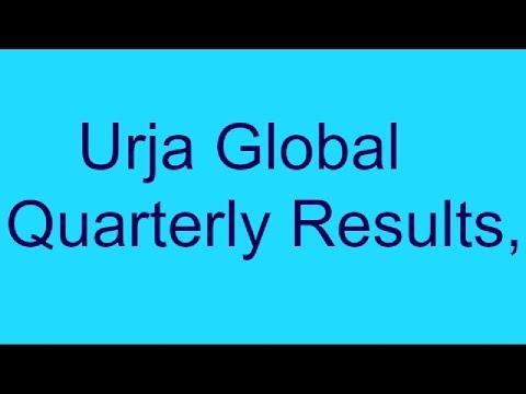 Urja global limited Quarterly Result..Assets Creation
