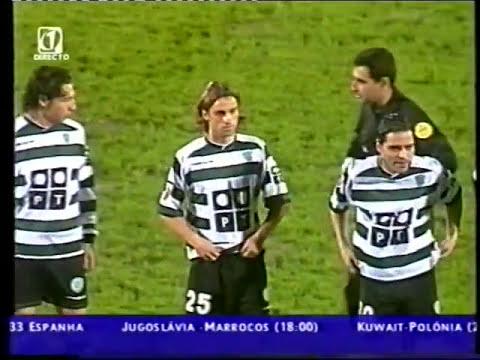 19J :: Santa Clara - 0 x Sporting - 1 de 2002/2003