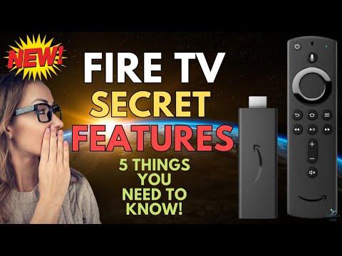 Download 🔥 FIVE SECRET HIDDEN FIRESTICK FEATURES 🔥