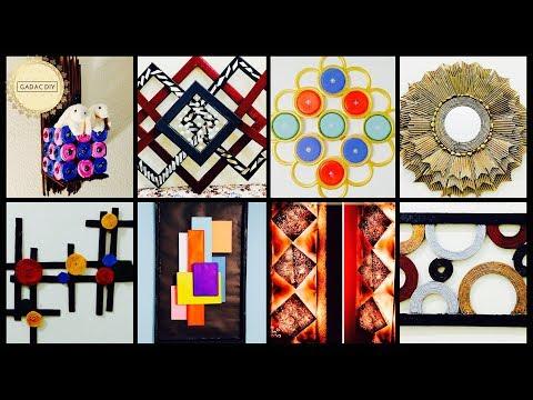 GADAC DIY| Subscribers Creation Vol 3| Wall hanging craft ideas|do it yourself wall decor|diy crafts