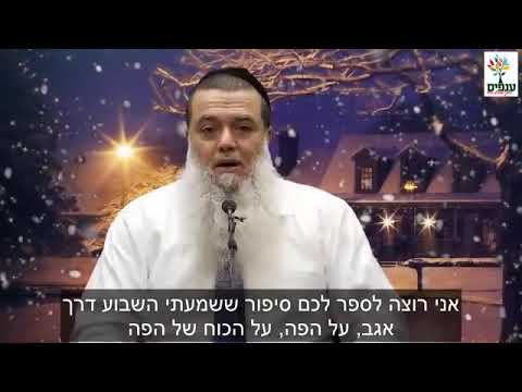 """צמרמורת!!! לעולם אל תגידו את המילה """"גירושין"""" בבית - הרב יגאל כהן בסרטון חדש ומרתק על כח הדיבור..."""