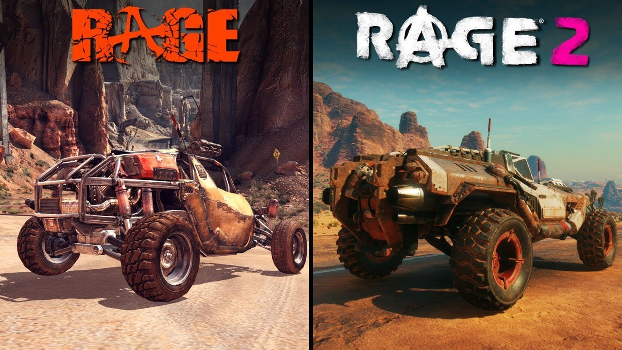 RAGE 2 vs RAGE 1 | Direct Comparison thumbnail