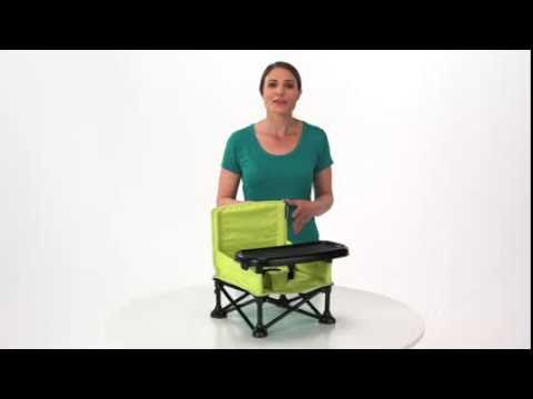 Summer Infant Pop \u0026#39;n Sit Portable Booster - YouTube