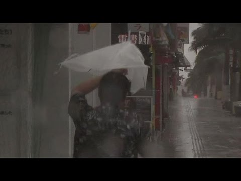 Second typhoon in a week due to make landfall in Japan