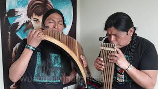 The Sound of Silence - Sonidos del Silencio Panflute and quenacho - Wuauquikuna