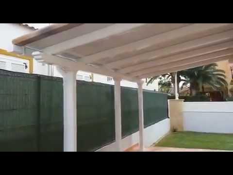 Pergolum pergolas de aluminio y estructuras met licas en murcia y levante youtube - Perfiles aluminio para pergolas ...