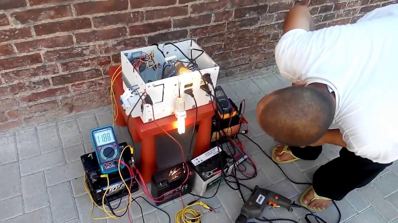 Generatore di corrente da 12 v 220 v 380 v mono fase youtube for Generatore di corrente lidl