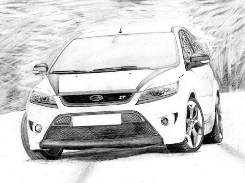 Белый свет на Ford Focus 2
