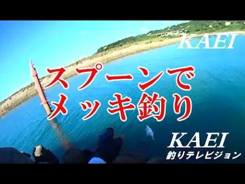 KAEI釣りテレビジョン スプーンでメッキ釣り KAEI釣りテレビジョン  スプーンでメッキ釣り