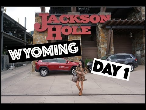 TRAVEL VLOG: Jackson, Wyoming | PART 1 👑