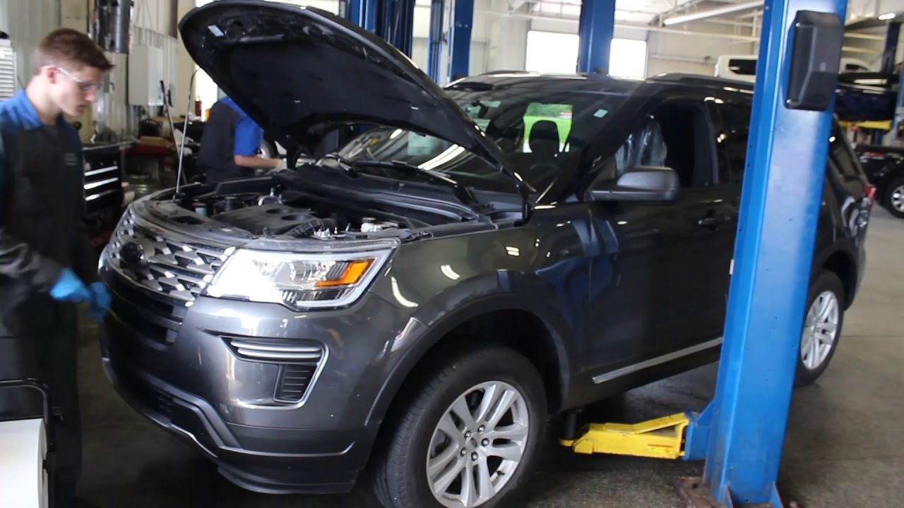 Service & Parts Department - Grand Ledge Ford dealer in
