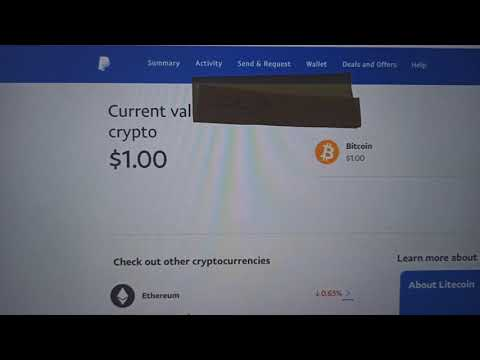 Buy Bitcoin On PayPal
