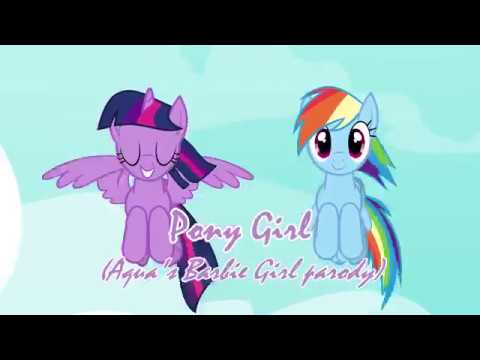 I'm A Pony Girl - I'm A Barbie Girl Song