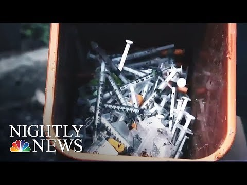 Opioid Crisis: 313 Deaths So Far This Year In Ohio County | NBC Nightly News
