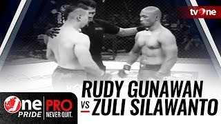 Video Rudy Gunawan vs Zuli Silawanto - One Pride MMA download MP3, 3GP, MP4, WEBM, AVI, FLV September 2018