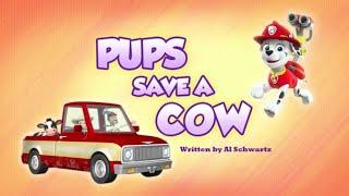 Щенячий патруль|6 сезон 3 серия (Б)|Pups Save a Cow