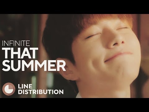 INFINITE - That Summer (Line Distribution)