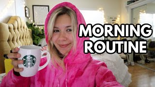 UNEDITED MORNING ROUTINE
