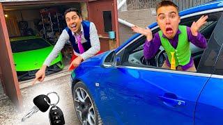 Mr. Joe found Magic Key Box & Key TURNED in Car Keys of Lamborghini Huracan w/ A LOT OF Car Keys