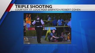 Three injured in shooting at City Garden in downtown St. Louis