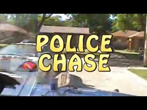 Crazy Michigan State Police Chase