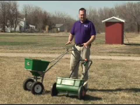 Tips For Using Drop Or Broadcast Spreaders