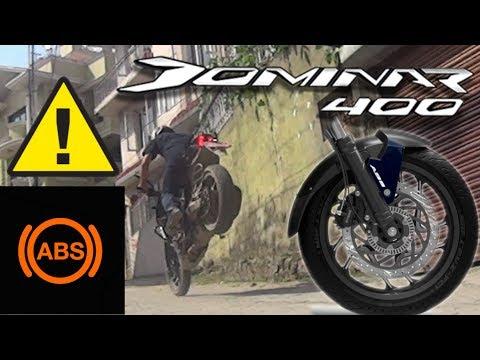 HOW TO DISABLE ABS ( Anti-lock Braking System ) in Bajaj Dominar 400