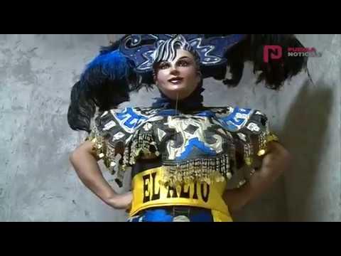 Huehues representaran a Puebla en Colombia.