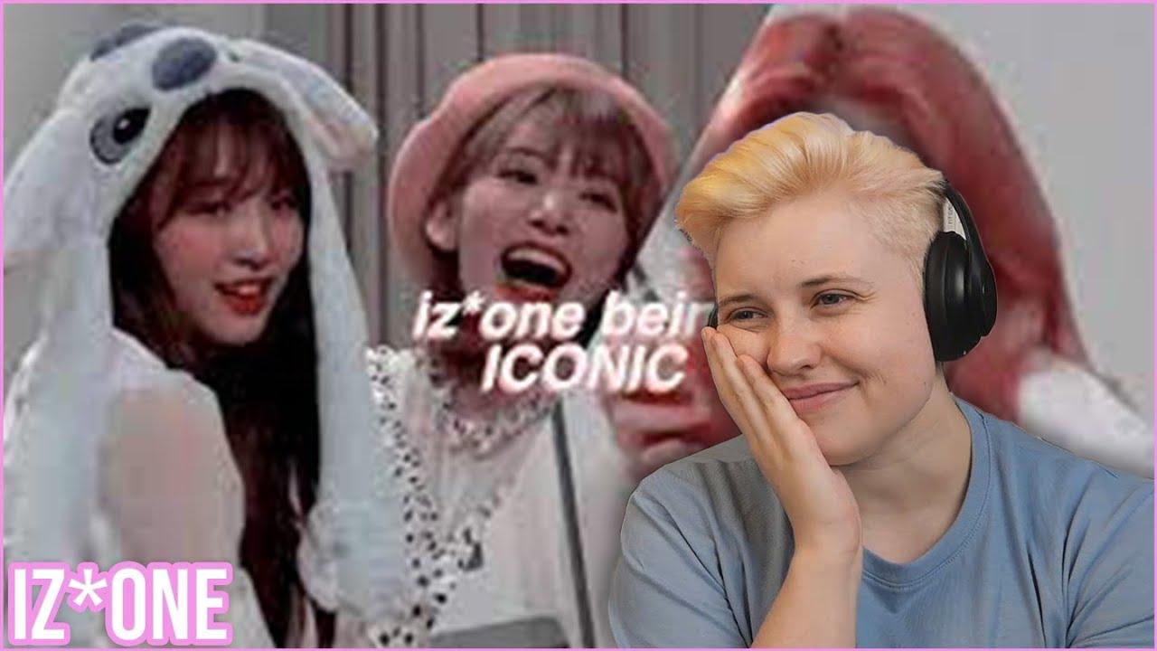 REACTION to IZ*ONE - 'ICONIC IZ*ONE MOMENTS BC I MISS THEM ALREADY' (by aeong mochi)