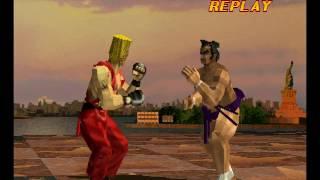 Tekken 2 ( PS1 ) - Ganryu - Arcade Mode - Original Music ( Feb 27, 2017 ) thumbnail