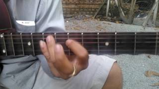 Hướng dẫn guitar bài Mạnh Lệ Quân