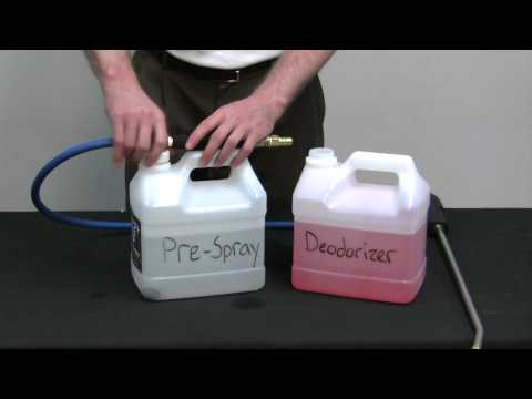 AS08, AS08P, AS08R - The Benefits Of The Hydro-Force Injection Sprayer