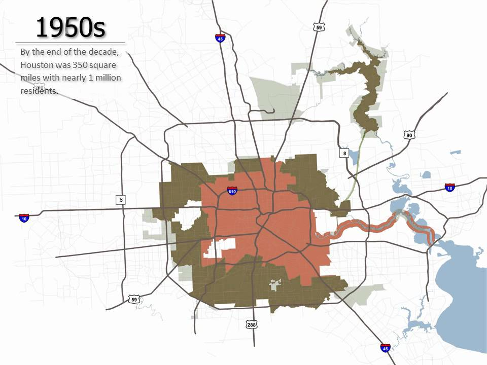 Annexation History Planning And Development Department City Of Houston Youtube
