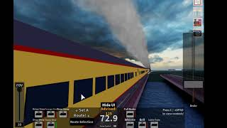Driving up 844 steam in rails unlimited roblox